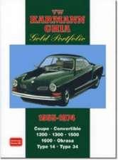 VW Karmann GHIA Gold Portfolio 1955-1974:  1965-1972