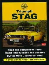 Triumph Stag:  Road Test Portfolio