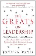 The Greats on Leadership