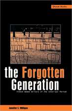 The Forgotten Generation