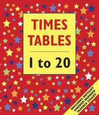 Times Table 1 to 20 (Floor Book):  Includes Instant Answer Number Matrix Chart