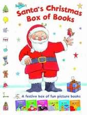 Santa's Christmas Box of Books