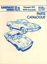 Triumph Tr7 Parts Catalogue 1979 Onwards:  Thinkers of Our Time