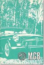 MG MGB Tourer and GT
