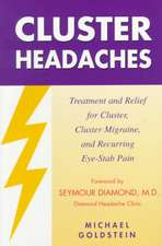 Cluster Headaches, Treatment and Relief: Treatment and Relief for Cluster, Cluster Migraine, and Recurring Eye-Stab Pain
