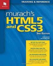 Murach's HTML5 and CSS3:  My Years with Yogi Ramsuratkumar