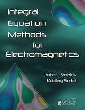 Integral Equation Methods for Electromagnetics