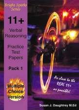 11+ Verbal Reasoning Test Papers