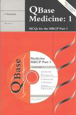 Qbase Medicine Paperback :  Volume 1, McQs for the MRCP, Part 1 [With CD]
