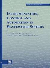 Instrumentation, Control and Automation in Wastewater Systems