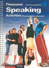 Hird, J: Speaking Activities Pre-intermediate - Advanced