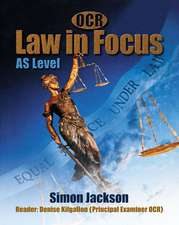OCR Law in Focus:AS Level