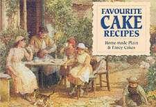 Favourite Home Made Cake Recipes