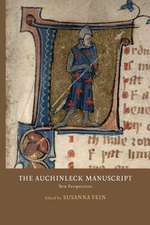 The Auchinleck Manuscript – New Perspectives
