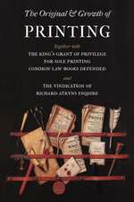 The Original and Growth of Printing