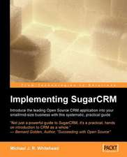 Implementing Sugarcrm