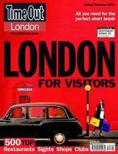 """""""Time Out"""" London for Visitors"""