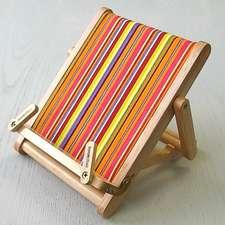 Stripy Wooden Medium Bookchair