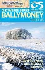 Irish Discovery Series 08. Ballymoney 1 : 50 000