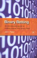 Binary Betting