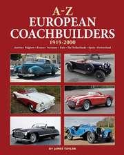 A-Z European Coachbuilders: 1919-2000, Austria * Belgium * France * Germany * Italy * the Netherlands * Spain * Switzerland