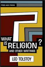What Is Religion? and Other Writings.:  An Anthology of Vegetarian Thought