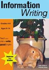Information Writing (US English Edition) Grades 4-8