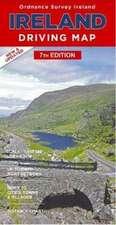 Ireland Driving Map  1 : 450 000