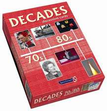 Decades Discussion Cards 70s/80s