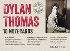 Dylan Thomas Notecards (Complete Set):  10 Cards and Envelopes
