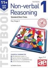 11+ Non-Verbal Reasoning Year 3/4 Testbook 1