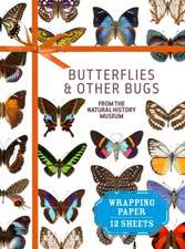 Butterflies & Other Bugs from the Natural History Museum:  12 Sheets