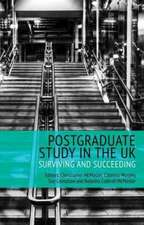 Postgraduate Study in the UK - Surviving and Succeeding