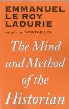 MIND & METHOD OF THE HISTORIAN