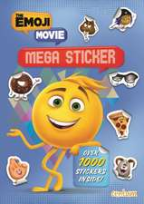 Emoji Movie Mega Sticker Book