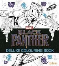 BLACK PANTHER DELUXE COLOURING BOOK