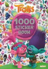 Trolls 1000 Sticker Book