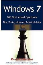 WINDOWS 7 100 MOST ASKED QUES