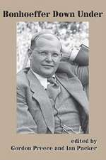 Bonhoeffer Down Under