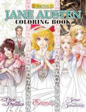 The Jane Austen Coloring Book:  Sakura
