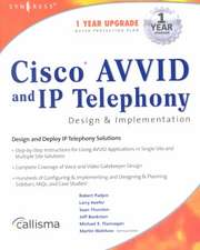 Cisco AVVID and IP Telephony Design and Implementation