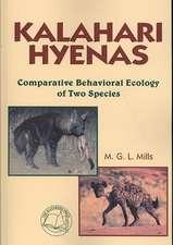 Kalahari Hyenas:  Comparative Behavioral Ecology of Two Species