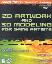 2D Artwork and 3D Modelling for Game Artists
