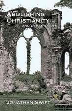 Abolishing Christianity
