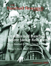 The Baseball Research Journal (BRJ), Volume 38 #1
