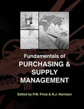 Fundamentals of Purchasing and Supply Management