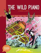 The Wild Piano:  A Toon Graphic
