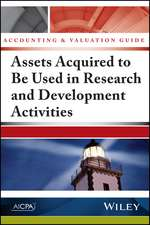 ACCOUNTING & VALUATION GD ASSE