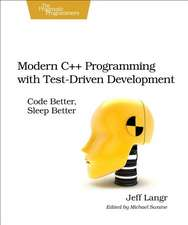 Modern C++ Programming with Test–Driven Development