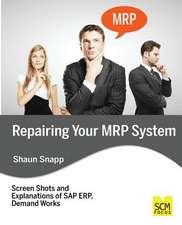Repairing Your MRP System